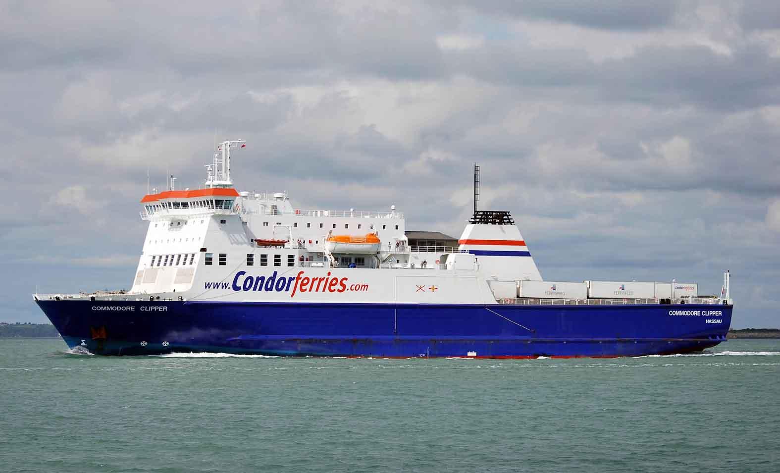 Condor Ferries Ro Ro Upgrades Ships Monthly