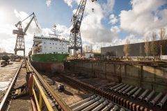 Damen completes maintenance for fallpipe vessel Flintstone
