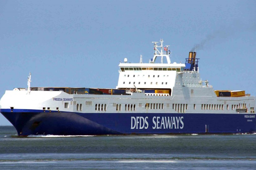 Dfds Seaways Shuffles Its Ro Ro Fleet Ships Monthly