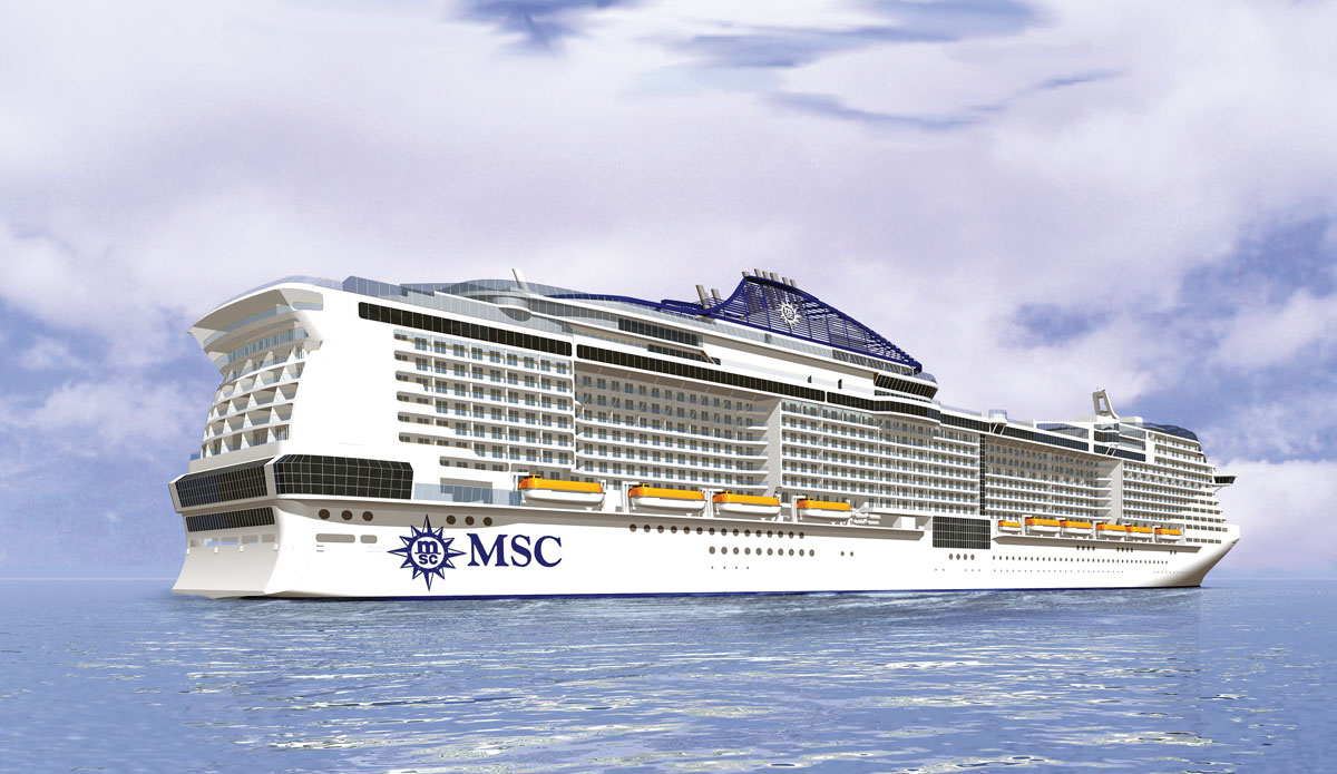 Name Revealed For New Msc Ship Ships Monthly