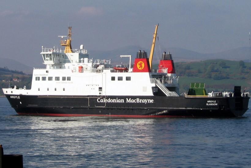 Caledonian Macbrayne Fits Automatic Escape Slides