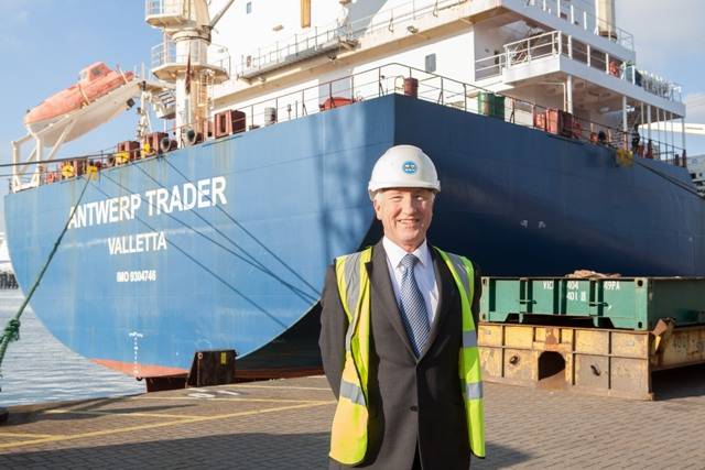 Maersk line largest cargo ship into Portsmouth | Ships Monthly