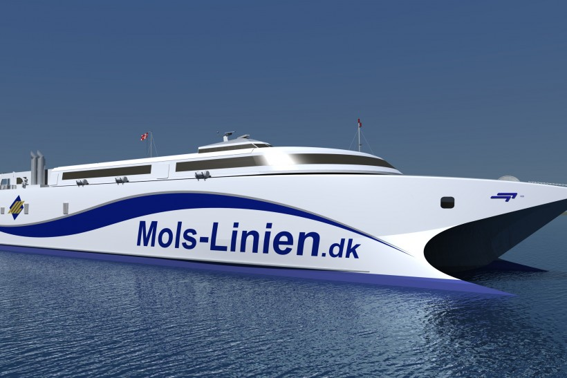 Incat builds new ferry for Denmark