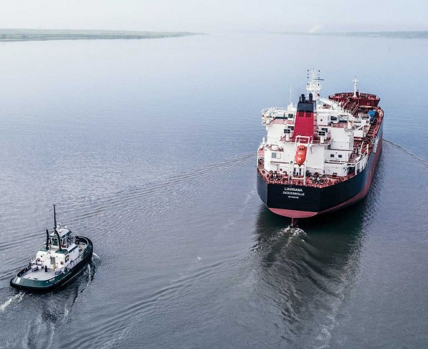 Crowley Takes Delivery of tanker Louisiana