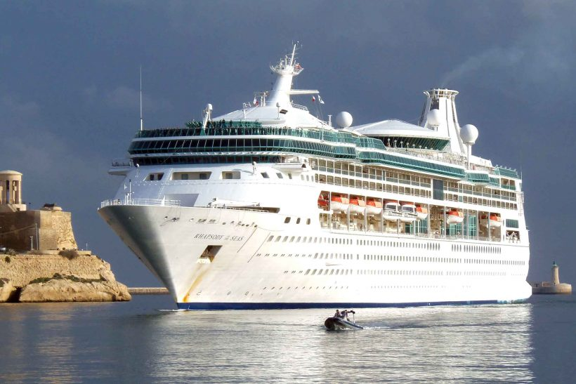 Rhapsody Of The Seas Caught In Storm Ships Monthly