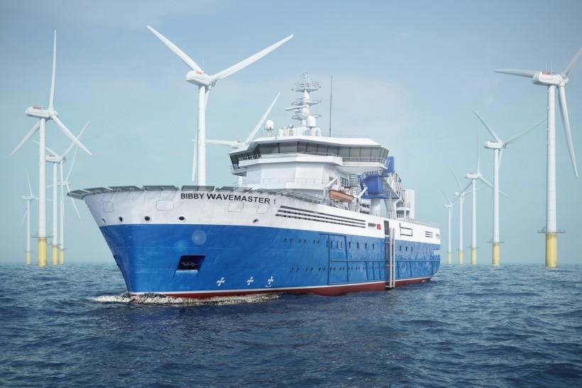 Construction begins on windfarm vessel Bibby WaveMaster