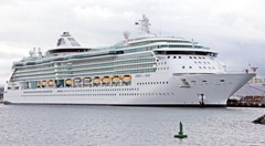 Cruise ships old and new