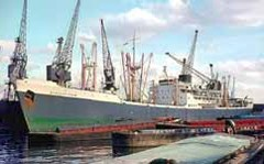 Cargo ships to naval cutbacks