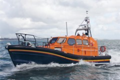 New lifeboat greatly impresses
