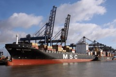 CONTAINER SHIP: MSC increase market share