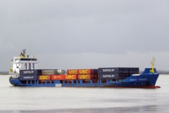SHORT SEA FEEDERS: Samskip switch vessels