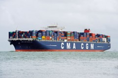 CONTAINER SHIP: Another Explorer arrives