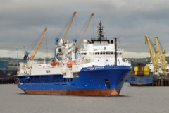 CABLE LAYER: Tyneside yard staying busy