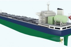 LNG BULKER: 'Clean sky' thinking
