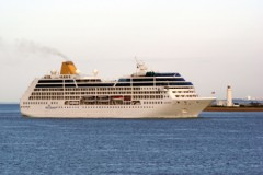 P&O CRUISES: Shirley names Adonia
