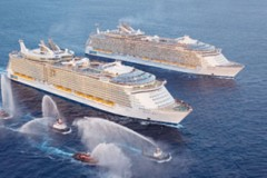 ROYAL CARIBBEAN: Allure arrives for RCI anniversary