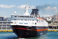 BLUE OCEAN CRUISES: Ocean Life falters off India