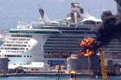 PORT ACCIDENT: Blast rocks Gibraltar