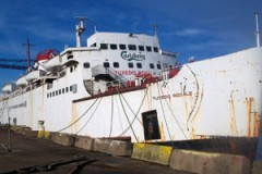 HISTORIC FERRY: Bid to bring Dover home
