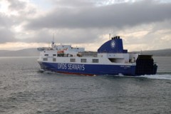 IRISH SEA: Stena Line spells it out