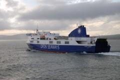 IRISH SEA: Stena Line spells it out