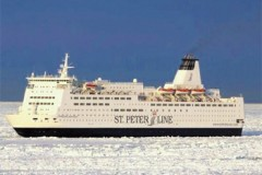 BALTIC SEA: Icy start for former Pride