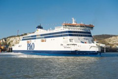 P&O FERRIES: Spirit of Britain makes Channel debut