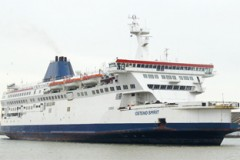 ENGLISH CHANNEL: Transeuropa charter Calais