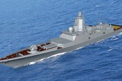 RUSSIAN NAVY: Russia reveals new frigate