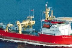 ICE PATROL: Navy leases icebreaker as a stop-gap