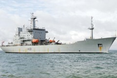 SURVEY SHIP: Back to the ice for Scott