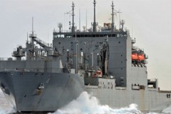 MILITARY SEALIFT: First for Dickie Byrd