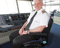 Steven Cockerill, master of Delft Seaways