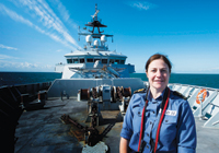 Lt Cdr Sarah Oakley RN