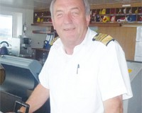 Captain Brian Larcombe
