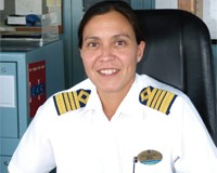 Captain Lis Lauritzen