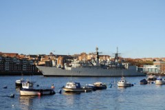 ROYAL NAVY: Farewell to HMS Chatham