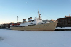 EX CRUISE SHIP: Bore gets permanent home