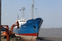 CARGO VESSEL: End of the road