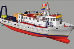 RESEARCH SHIP: Canadian hybrid