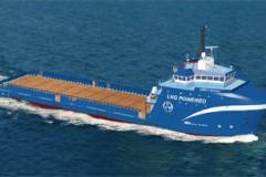 PLATFORM SUPPORT: LNG-fuelled US-flag first