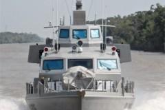 NEW PATROL BOATS: Swiftships' swift boats for Iraq
