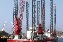 WINDFARM WORKERS: A&P service Seajacks