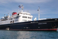 SMALL CRUISE SHIP: Five-star experience