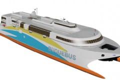 NEW FERRY DESIGN: World-first LNG ferry