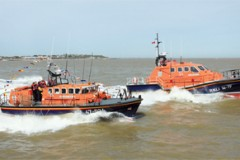 NEW LIFEBOAT: Walton's first for 58 years