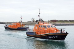 NEW LIFEBOAT: The latest in life-saving