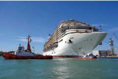 NEW CRUISE SHIP: Carnival Magic floated