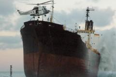 SHIP WRECKED: Cargo ship wrecked off South Africa