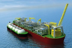 GAS PLATFORM: Gas platform to be biggest 'ship'